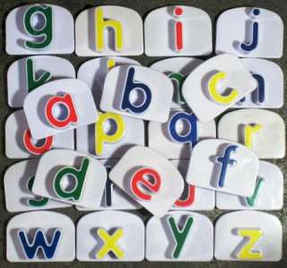 LeapFrog REPLACEMENT LETTERS a z FRIDGE PHONICS WHAMMER
