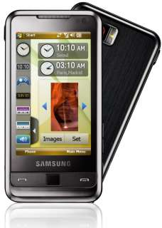 NEW SAMSUNG OMNIA i900 BLACK 16GB GPS 3G UNLOCKED CELL PHONE + FREE