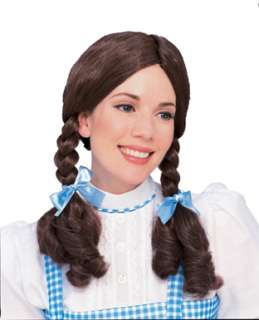 Dorothy from Wizard of Oz Brown Braided Wig