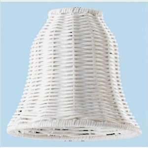 Westinghouse Lighting 81379 White Wicker Ceiling Fan Light